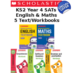 Year 4 Learning Pack [5 Books] KS2 SATs Textbooks and Work..