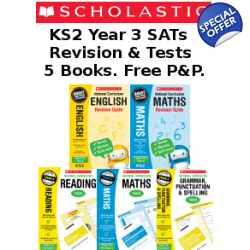 Year 3 Exam Pack [5 Books] KS2 SAT Revision Guid..