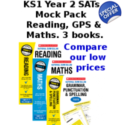 Year 2 Mock Pack [3 Books] KS1 SATs Practice Tes..