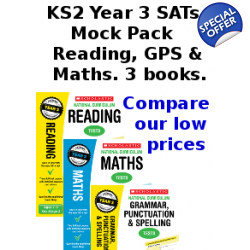 Year 3 Mock Pack [3 Books] KS2 SATs Practice Tests for Eng..