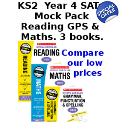 Year 4 Mock Pack [3 Books] KS2 SATs Practice Tes..