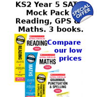Year 5 Mock Pack [3 Books] KS2 SATs Practice Tes..