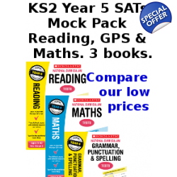 Year 5 Mock Pack [3 Books] KS2 SATs Practice Tests for Eng..