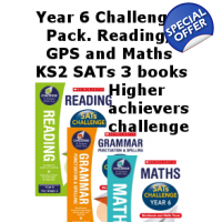 Year 6 Challenge Pack [3 Books] for English, GPS..
