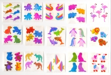 Choice Vintage 80's Sandylion Pearly Animals Sticker Mod