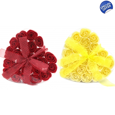 Sets of 24 Soap Flowers
