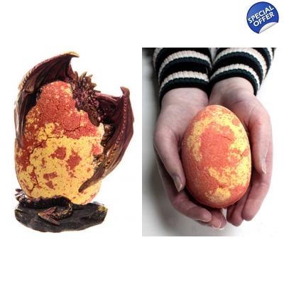 Dragon's Egg Bath Bombs