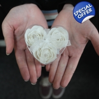 Set of 3 Soap Flowers