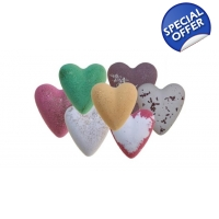 MegaFizz Bath Hearts