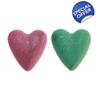 Christmas MegaFizz Bath Hearts