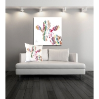 Limited Edition Jeffrey Giraffe Fine Art Canvas Print