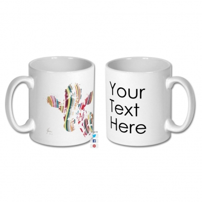Personalise your own Mug- Add a custom message