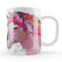 Rainbow Unicorn Mug & Coaster Gift Set