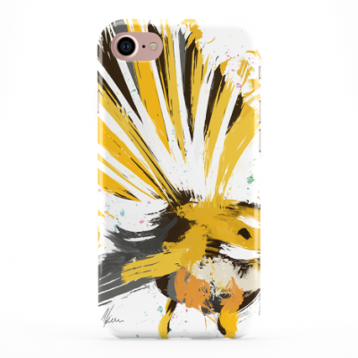 Colourful Yellow Fantail Phone Cover iphone & Samsung