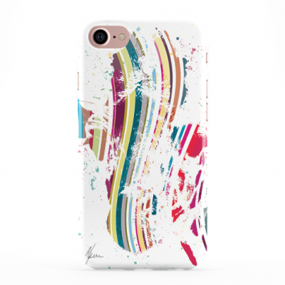 Colourful Pink Giraffe Phone Cover iphone & Samsung