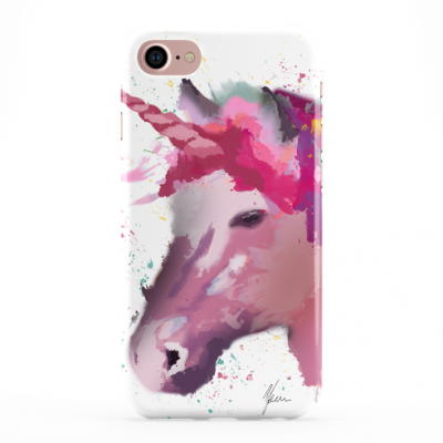 Pink Unicorn Phone Cover iphone & Samsung