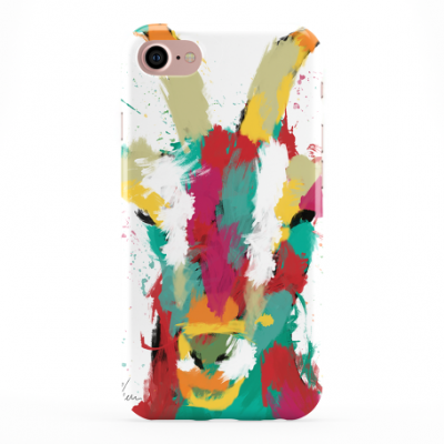 Colourful Goat Phone Cover iphone & Samsung-White