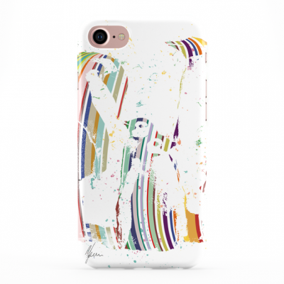 Colourful StriPey Penguin Phone Cover iphone & Samsung