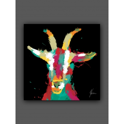 Scruffy Goat Fine Art P..
