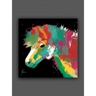 Scruffy Pony Fine Art P..