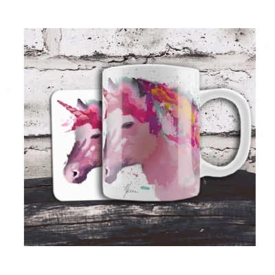 Rainbow Unicorn Mug & C..
