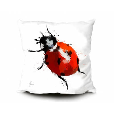 Ladybird Cushion- Vibra..