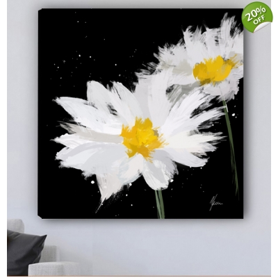 Scruffy Daisy Painting-..