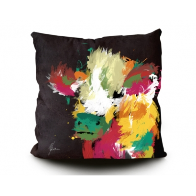 Highland Cow Cushion Bl..