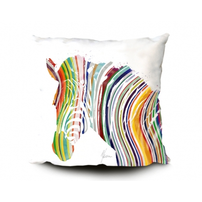Zebra Print Cushion- Mu..
