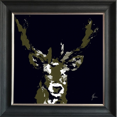 Stag Head Fine Art Fram..