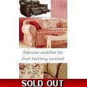 Rachel Ashwell Dining Chair Slipcover Rosalie Pink Floral