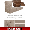 Dual Reclining LOVESEAT..