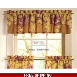 Waverly Valance French ..