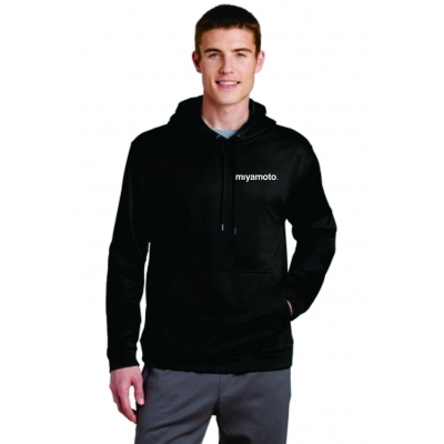 Sport-Wick® Fleece Hooded Pullover title=