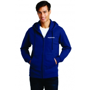 Fan Favorite Fleece Full-Zip Hooded Sw..
