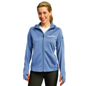 Ladies Tech Fleece Full-Zip Hooded Jac..