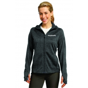 Ladies Tech Fleece Full-Zip Hooded Jacket