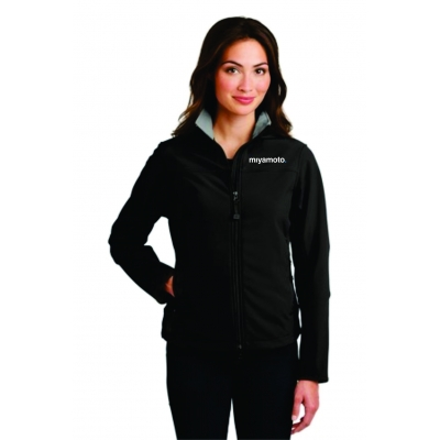 Ladies Glacier® Soft Shell Jacket title=