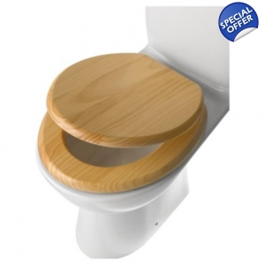 Basic Wooden Toilet Seat