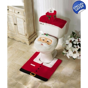Christmas Santa Toilet Seat Cover