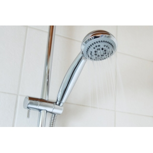 Basic Shower Head and Shower Rail