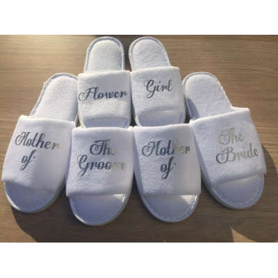 Personalised Bridal Party Hen Party Spa Slippers