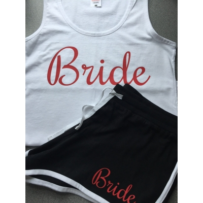Personalised bride pajamas, other roles available