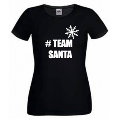 Team Santa Christmas T-shirt, teamsanta tee