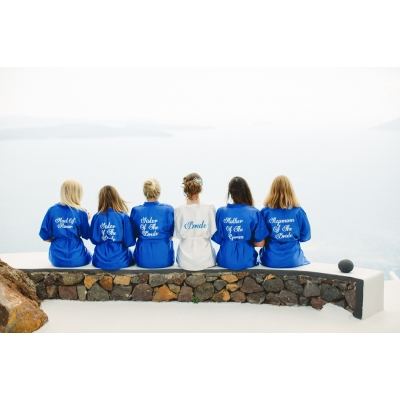 Personalised Bridesmaid robes , wide range of colours