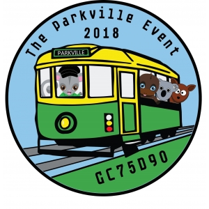The Parkville Event Standard Geocoin