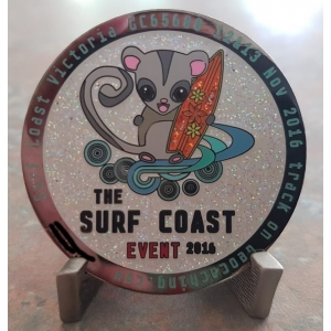 The Surf Coast Event Limited Edition Geocoin