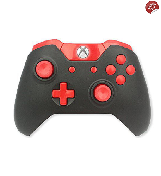 ModsRus 10,000 Marksman Mod Controllers Xbox One Red Out
