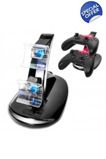 Dual Led Fast Charging Dock Station Charger For Xbox One Controllers