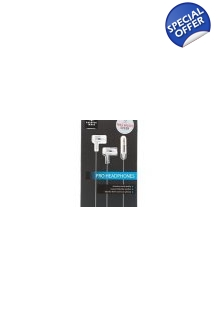 Sharper Image Pro Ear Buds HD Sound In Ear Noise Isolation Design Vibration Free